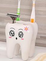 Недорогие -Стакан для зубных щеток обожаемый / Креатив Modern пластик 6шт Зубная щетка и аксессуары / Губки и скрубберы