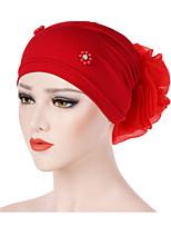 Недорогие -Жен. / Универсальные Винтаж / Для вечеринки / Праздник Широкополая шляпа Цветочный принт