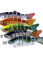 Недорогие -1 pcs Жесткая наживка / Рыболовная приманка / Рыбалка Инструменты Жесткая наживка Углеродистая сталь / ABS Износостойкий / Легко для того чтобы снести / Легкий вес