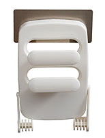 Недорогие -Полка для ванной Креатив Современный Пластик 2pcs На стену