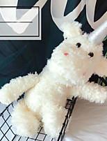 Недорогие -единорог Мягкие и плюшевые игрушки Животные Милый удобный Гусиное перо Все Игрушки Подарок 1 pcs