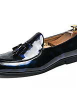 Недорогие -Муж. Комфортная обувь Полиуретан Весна На каждый день Мокасины и Свитер Доказательство износа Черный / Синий