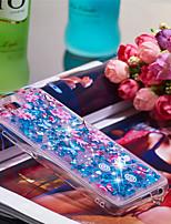 Недорогие -Кейс для Назначение Huawei Honor 10 Защита от удара / Сияние и блеск Кейс на заднюю панель Сияние и блеск Мягкий ТПУ для Huawei Honor 10