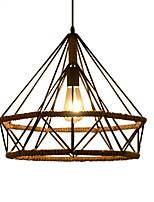 Недорогие -шишка Подвесные лампы Рассеянное освещение Окрашенные отделки Металл Творчество 110-120Вольт / 220-240Вольт