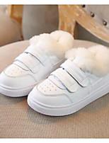 Недорогие -Мальчики / Девочки Обувь Микроволокно Весна & осень Удобная обувь Кеды На липучках для Дети (1-4 лет) Белый