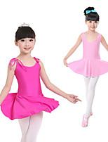 abordables -Danse classique Robes Fille Entraînement / Utilisation Elasthanne / Lycra Bandeau Sans Manches Robe