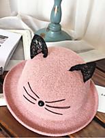 Недорогие -Жен. Классический Соломенная шляпа Контрастных цветов