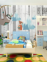 abordables -fond d'écran / Mural Toile Revêtement - adhésif requis Peinture / Motif / 3D