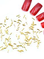 Недорогие -Стразы для ногтей Мини / 3D интерфейс / Специальный дизайн Тату с тотемом Тату со стразами Романтическая серия маникюр Маникюр педикюр Металл Геометрия / Камни Рождество / Особые случаи / Halloween