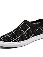 Недорогие -Муж. Комфортная обувь Tissage Volant Весна лето На каждый день Мокасины и Свитер Черный