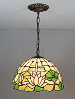 billiga -Hängande lampor Glödande Målad Finishes Glas Glas Flerfärgad skärm, Kreativ 110-120V / 220-240V