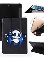cheap -Case For Apple iPad Air / iPad 4/3/2 / iPad Mini 3/2/1 Shockproof / Flip / Ultra-thin Full Body Cases Panda Soft Silicone
