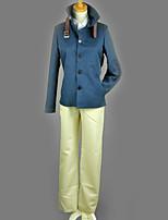 Недорогие -Вдохновлен Косплей Косплей Аниме Косплэй костюмы Косплей Костюмы Однотонный / Простой Пальто / Блузка / Кофты Назначение Муж. / Жен.