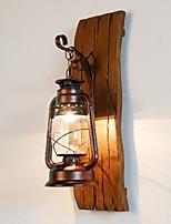 Недорогие -Cool Ретро Настенные светильники В помещении Металл настенный светильник 220-240Вольт 40 W