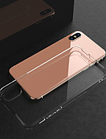 abordables -Coque Pour Apple iPhone X / iPhone XS Max Antichoc / Transparente Coque Couleur Pleine Flexible TPU pour iPhone XS / iPhone XR / iPhone XS Max