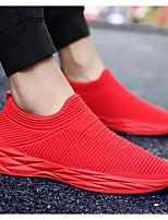 Недорогие -Муж. Комфортная обувь Tissage Volant Лето Мокасины и Свитер Черный / Серый / Красный