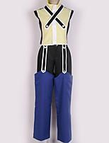 baratos -Inspirado por Kingdom Hearts Fantasias Anime Fantasias de Cosplay Ternos de Cosplay Contemporâneo Blusa / Calças / Luvas Para Homens / Mulheres