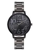 Недорогие -Жен. Нарядные часы Наручные часы Кварцевый Черный Новый дизайн Повседневные часы Аналоговый На каждый день Мода - Черный Один год Срок службы батареи