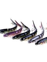 Недорогие -1 pcs Жесткая наживка Жесткая наживка Пластик / Углеродистая сталь Водонепроницаемый / Легкий и удобный / Прост в применении Морское рыболовство / Ловля на приманку / Спиннинг