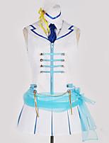billiga -Inspirerad av Love Live Cosplay Animé Cosplay-kostymer cosplay Suits Konst Dekor / Modernt Kjol / Mer accessoarer / Knyta Till Herr / Dam