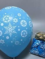 baratos -Decorações de férias Decorações Natalinas Objetos de decoração Decorativa Azul 10pçs