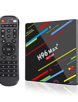 baratos -PULIERDE H96MAX+ PLUS TV Box Android 8.1 TV Box RK3328 4GB RAM 64GB ROM Quad Core Novo Design