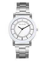 Недорогие -Жен. Нарядные часы Наручные часы Кварцевый Серебристый металл Новый дизайн Повседневные часы Аналоговый На каждый день Мода - Серебряный Один год Срок службы батареи
