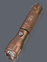 abordables -1pc Design nouveau / Cool / Rechargeable Aluminium Lampes Torches LED 3 W