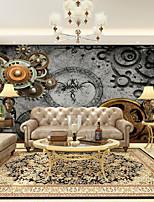 Недорогие -обои / фреска холст Облицовка стен - Клей требуется Плитка / Рисунок / 3D