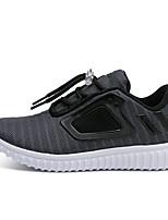 Недорогие -Мальчики / Девочки Обувь Эластичная ткань Весна & осень Удобная обувь Спортивная обувь Беговая обувь для Для подростков Белый / Черный / Серый