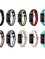 Недорогие -Ремешок для часов для Серия Apple Watch 5/4/3/2/1 Apple Классическая застежка силиконовый Повязка на запястье