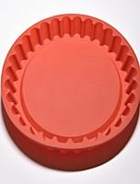 Недорогие -Инструменты для выпечки Силикон Cool / Творческая кухня Гаджет Необычные гаджеты для кухни Круглый Десертные инструменты 1шт