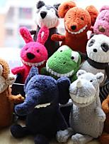 Недорогие -Слон Дракон Мышь Мягкие и плюшевые игрушки Животные Милый удобный 100% коралловый флис Гусиное перо Все Игрушки Подарок 1 pcs / единорог