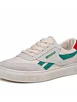 Недорогие -Муж. Комфортная обувь Полотно Весна & осень Кеды Черный / Красный / Зеленый