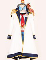baratos -Inspirado por Amar viver Fantasias Anime Fantasias de Cosplay Ternos de Cosplay Design Especial Saia / Capa / Mais Acessórios Para Homens / Mulheres