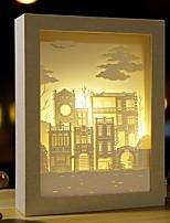 Недорогие -1шт LED Night Light Тёплый белый DC Powered обожаемый / Простота транспортировки 5 V