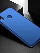 Недорогие -Кейс для Назначение Huawei Huawei Note 10 / Huawei Honor 8X Max Матовое Кейс на заднюю панель Однотонный Твердый ПК для Huawei Note 10 / Huawei Honor 10 / Huawei Honor 8X Max