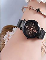 Недорогие -Жен. Нарядные часы Кварцевый Черный / Синий / Фиолетовый Защита от влаги Cool Аналоговый Дамы Мода Элегантный стиль - Лиловый Синий Розовое золото