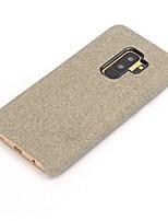 abordables -Cooho Coque Pour Samsung Galaxy Note 9 / Note 8 Antichoc / Etanche à la Poussière Coque Couleur Pleine Flexible Textile pour Note 9 / Note 8