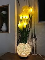 baratos -1pç LED Night Light Branco Quente DC Powered Adorável 5 V