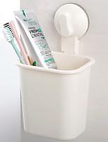 abordables -Gobelet pour brosse à dents Créatif / Nouveautés Moderne contemporain Plastique 1pc Salle de bain