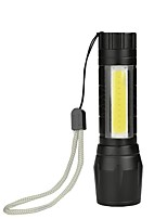 baratos -Brelong portátil mini cob lanterna luz embutida bateria 1 pc