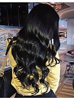 Недорогие -человеческие волосы Remy Полностью ленточные Лента спереди Парик Бразильские волосы Глубокий курчавый Парик Ассиметричная стрижка 130% 150% 180% Плотность волос Мягкость Женский Легко туалетный Sexy