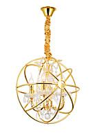 Недорогие -ZHISHU 4-Light Цилиндр / Фонариком Подвесные лампы Торшер Электропокрытие Металл Творчество 110-120Вольт / 220-240Вольт
