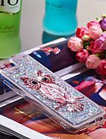 Недорогие -Кейс для Назначение Huawei Honor 10 Защита от удара / Сияние и блеск Кейс на заднюю панель Сова / Сияние и блеск Мягкий ТПУ для Huawei Honor 10
