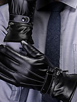 Недорогие -Полныйпалец Муж. / Жен. Мотоцикл перчатки Кожа Сенсорный экран / Сохраняет тепло / Non Slip