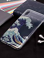 Недорогие -Кейс для Назначение Apple iPhone XR / iPhone XS Max С узором / Сияние и блеск Кейс на заднюю панель Пейзаж Мягкий ТПУ для iPhone XS / iPhone XR / iPhone XS Max
