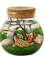 Недорогие -1шт стекло / Резина Современный современный для Украшение дома, Домашние украшения Дары