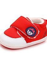 Недорогие -Мальчики / Девочки Обувь Хлопок Зима Удобная обувь / Обувь для малышей Кеды для Дети Темно-синий / Красный / Розовый