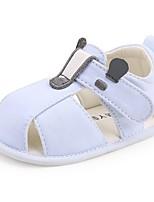 Недорогие -Мальчики / Девочки Обувь Хлопок Весна & осень Удобная обувь / Обувь для малышей На плокой подошве для Дети Светло-синий / Миндальный